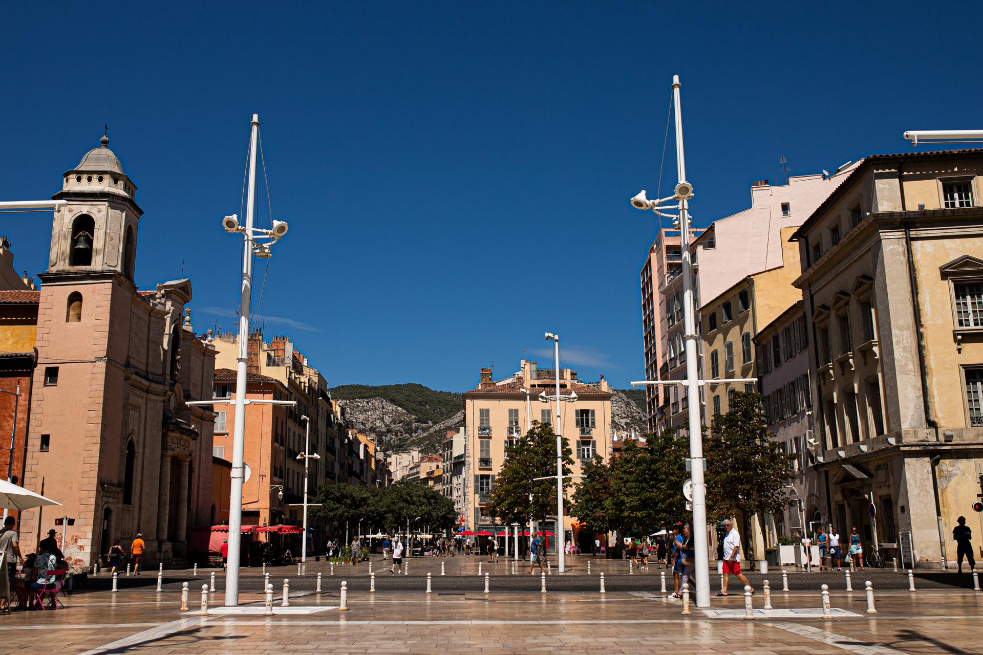 ville de Toulon. Photographie